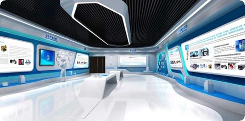 電子科技展廳設計(科技電子展廳)